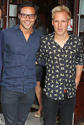 © Licensed to London News Pictures. 01/07/2013. London, UK.  Andy Jordan & Jamie Laing at the A Curious Night at the Theatre - Gala Evening. Photo credit: Brett D. Cove/LNP