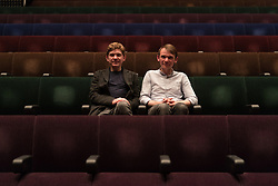 Brothers Peter (left) and David Brewis of Field Music pose for photos before their performance at The Barbican in London. Photo date: Friday, May 25, 2018. Photo credit should read: Richard Gray/EMPICS