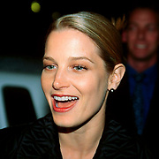 Actrice Bridget Fonda at the opening of her movie A Simple Plan in Rotterdam the Netherlands