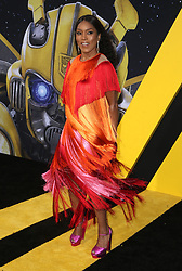 HOLLYWOOD, CA - DECEMBER 9: Hailee Steinfeld at the Global Premiere of Bumblebee at the TCL Chinese Theater in Hollywood, California on December 9, 2018. 09 Dec 2018 Pictured: Angela Bassett. Photo credit: MPIFS/Capital Pictures / MEGA TheMegaAgency.com +1 888 505 6342