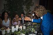LAPO ELKANN IN BLUE. Luomo Vogue 40th Anniversary dinner. Palazzo Litta. Milan. 22 June 2008 *** Local Caption *** -DO NOT ARCHIVE-© Copyright Photograph by Dafydd Jones. 248 Clapham Rd. London SW9 0PZ. Tel 0207 820 0771. www.dafjones.com.