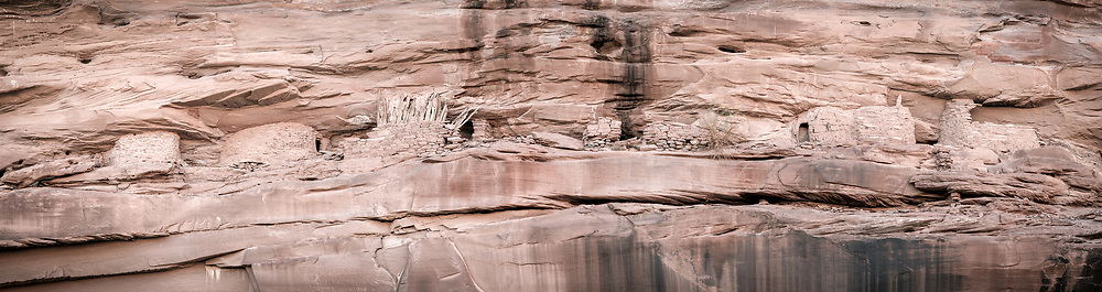 Cliff dwelling in lower Chinle Wash, Navajo Nation (Utah).