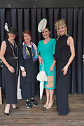 17/08/2017 Mandy Maher, Catwalk models, Triona Sweeney from Millars and Winner of the best dressed competition Leanne O'Malley from Maam and Guest judge Katie Geoghegan at the Connemara Pony Show in Clifden. Photo:Andrew Downes, xposure