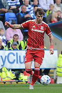 Middlesbrough defender Fernando Amorebieta during the Sky Bet Championship match between Reading and Middlesbrough at the Madejski Stadium, Reading, England on 3 October 2015. Photo by Alan Franklin.