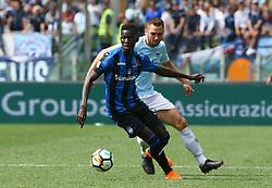 May 6, 2018 - Rome, Italy - Musa Barrow of Atalanta and Stefan de Vrij of Lazio at Olimpico Stadium in Rome, Italy on May 6, 2018. (Credit Image: © Matteo Ciambelli/NurPhoto via ZUMA Press)