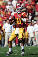 7 October 2006: USC starting quarterback #10 John David Booty during  NCAA College Football Pac-10 USC Trojans 26-6 win over the Washington Huskies at the LA Coliseum during a sunny saturday game in Los Angeles, CA.<br />