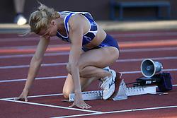 Brigita Langerholc at Athletic National Championship of Slovenia, on July 19, 2008, in Stadium Poljane, Maribor, Slovenia. (Photo by Vid Ponikvar / Sportal Images).