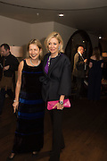 IWONA BLAZWICK; NADJA SWAROVSKI,  at the Whitechapel Gallery Art Icon 2015 Gala dinner supported by the Swarovski Foundation. The Banking Hall, Cornhill, London. 19 March 2015
