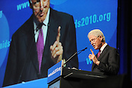 Austria, Vienna. XVIII International AIDS Conference (AIDS 2010).Plenary Session.Photo shows: Former U.S. President  Bill Clinton, William J. Clinton Foundation, United States..©IAS/Steve Forrest/Workers' Photos