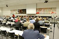 26 JUN 2003, BERLIN/GERMANY:<br /> Uebersicht Sitzungssaal, Oeffentliche Anhoerung des Bundestagsausschusses fuer Gesundheit und Soziale Sicherung, SPD Fraktionssaal, Deutscher Bundestag<br /> IMAGE: 20030626-01-014<br /> KEYWORDS: Öffentliche Anhörung, Sitzung, Übersicht