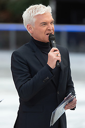 © Licensed to London News Pictures. 18/12/2018. London, UK. Phillip Schofield attends a photocall for the launch of ITV's Dancing On Ice new series. Photo credit: Ray Tang/LNP