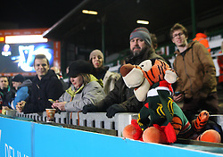 General view of Tigers fans before the match - Mandatory byline: Jack Phillips / JMP - 07966386802 - 13/11/15 - RUGBY - Welford Road, Leicester, Leicestershire - Leicester Tigers v Stade Francais - European Rugby Champions Cup Pool 4