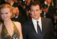 Actress Nicole Kidman and actor Clive Owen, at the Heminway & Gellhorn gala screening at the 65th Cannes Film Festival France. Friday 25th May 2012 in Cannes Film Festival, France.
