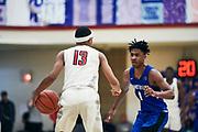 NORTH AUGUSTA, SC. July 10, 2019. Dajuan Harris 2019 #13 of MoKan Elite 17U at Nike Peach Jam in North Augusta, SC. <br /> NOTE TO USER: Mandatory Copyright Notice: Photo by Jon Lopez / Nike