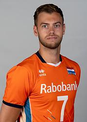 14-05-2018 NED: Team shoot Dutch volleyball team men, Arnhem<br /> Gijs Jorna #7 of Netherlands
