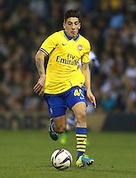 Arsenal's Hector Bellerin during the Capital One Cup, Third round match at The Hawthorns, West Bromwich.