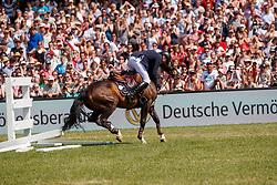 Tillmann Frederic, GER, AB 19 Chepetto<br /> Deutsches Spring- und Dressur Derby Hamburg 2017<br /> © Hippo Foto - Stefan Lafrentz<br /> 28-05-2017