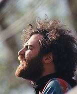 Jerry Rubin at the US Capitol in May 1970<br />Photo by Dennis Brack bb72