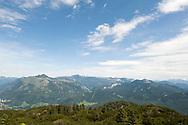 Hiking on Katrin, near Bad Ischl, Salzkammergut, Austria © Rudolf Abraham
