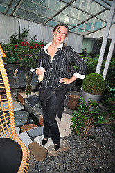 VICTORIA AITKEN at the Total Concierge launch party held in the stylish Courtyard Garden at Sanderson, Berners Street, London on 26th May 2009.