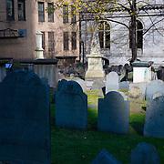 Old Granary Burial Ground, Boston MA