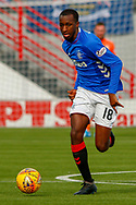Glen Kamara during the Ladbrokes Scottish Premiership match between Hamilton Academical FC and Rangers at The Hope CBD Stadium, Hamilton, Scotland on 24 February 2019.