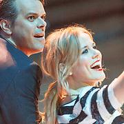 NLD/Utrecht/20150409 - Uitreiking 3FM Awards 2015, Ilse de Lange en Jan Bart Meijers