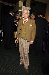 NICKY HASLAM at a reception to support The Hyde Park Appeal held in the officers Mess, Household Cavalry Mounted Regiment, Hyde Park Barracks, London SW1 on 10th November 2008.