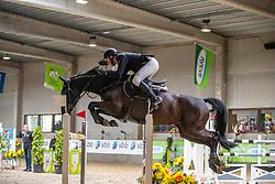 Kooremans Raf, BEL, Cavalor Chai Chai<br /> Klasse Zwaar<br /> Nationaal Indoor Kampioenschap Pony's LRV <br /> Oud Heverlee 2019<br /> © Hippo Foto - Dirk Caremans<br /> 09/03/2019