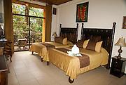 Hotel room at Manuel Antonio National Park, (Parque Nacional Manuel Antonio), Costa Rica