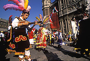 MEXICO, MEXICO CITY, FESTIVALS Our Lady of Guadalupe, Concheros Dance