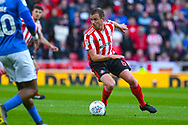 Lee Cattermole of Sunderland (6) in action during the EFL Sky Bet League 1 first leg Play Off match between Sunderland and Portsmouth at the Stadium Of Light, Sunderland, England on 11 May 2019.