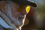 Image of a spectator at the Newport Beach Car Show, Orange County, California, America west coast by Randy Wells