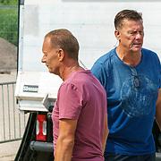 NLD/Huizen/20180706 - Opanem Bommetje 2018, Bertus Holkema in gesprek met Ron Boszhard
