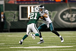 Philadelphia Eagles wide receiver Hank Baskett #84 during the NFL game between the Philadelphia Eagles and the New York Jets on September 3rd 2009. The Jets won 38-27 at Giants Stadium in East Rutherford, NJ.  (Photo By Brian Garfinkel)