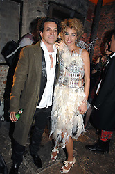 STEPHEN & ANASTASIA WEBSTER at the Stephen Webster launch party of his latest jewellery collection during the London Jewellery Week, at Wilton's Music Hall, Graces Alley, Off Ensign Street, London E1 on 12th June 2008.<br /><br />NON EXCLUSIVE - WORLD RIGHTS