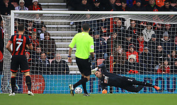Brighton & Hove Albion's Yves Bissouma (not pictured) scores his side's second goal of the game during the Emirates FA Cup, third round match at the Vitality Stadium, Bournemouth.