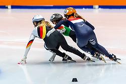 13-01-2019 NED: ISU European Short Track Championships 2019 day 3, Dordrecht<br /> Yara van Kerkhof #12 NED, Anna Seidel #51