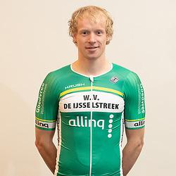 25-02-2020: Wielrennen: Teampresentatie IJsselstreek; Harderwijk. <br /> Jasper Schouten.