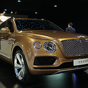 London,England, UK : 5th May 2016 : H.R Owen showcases at London Motor Show at Battersea Evolution over four days, with an exclusive preview in London. Photo by See Li