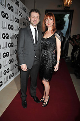 Actor MICHAEL SHEEN and     at the annual GQ Awards held at the Royal Opera House, Covent Garden, London on 8th September 2009.