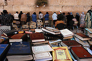 Women pray at the Wailing Wall in the Old City of Jerusalem Monday morning, November 3, 2003...Photo by Erin Lubin