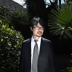 """Korean Director Cheol-soo Jang presenting his movie """"Bedevilled"""" at the 63rd Cannes Film Festival. France. 14 May 2010. Photo: Antoine Doyen"""