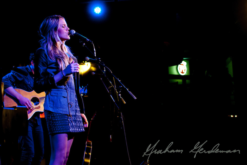 Logan Brill performing for the 4th Annual Ride for Reading Benefit Concert at 3rd and Lindsley in Nashville, TN.