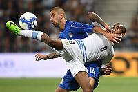 Nice (Francia) 07-06-2017 Stadio Allianz Riviera Friendly match Italia - Uruguay / Italy - Uruguay foto Image Sport/Insidefoto<br /> nella foto: Diego Rolan-Leonardo Spinazzola