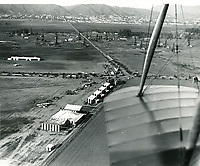 1920 Chaplin Airdrome & Mercury Aviation Company at DeMille Field #2 at Wilshire & Fairfax Blvds.