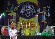 UNITED KINGDOM-LONDON. Kid's Science at Skyfest 2010. 16/07/2010. STEPHEN SIMPSON...