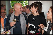 JOSIMAR MELO; HELENA RIZZO, Veuve Clicquot World's Best Female chef champagne tea party. Halkin Hotel. Halkin St. London SW1. 28 April 2014.