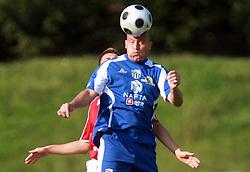 Jozsef Sebok (9) of Nafta at 7th Round of PrvaLiga Telekom Slovenije between NK Interblock vs NK Nafta Lendava, on September , 2008, in ZAK stadium in Ljubljana, Slovenia. Interblock won the match 3:1. (Photo by Vid Ponikvar / Sportal Images)
