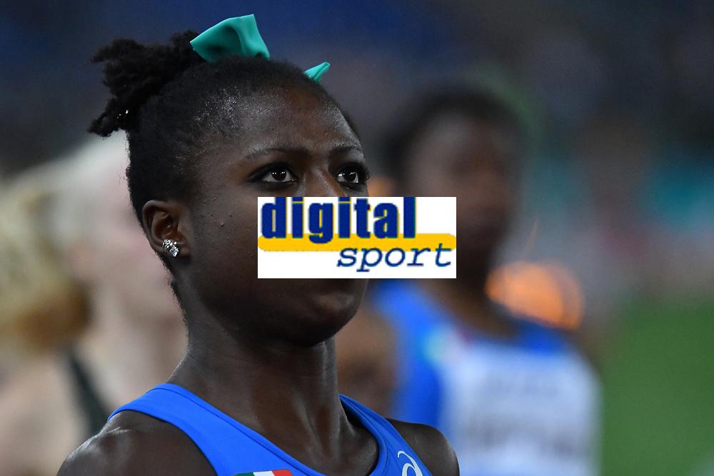 Gloria HOOPER ITA 4x100m Relay Women <br /> Roma 03-06-2016 Stadio Olimpico <br /> IAAF Diamond League Golden Gala <br /> Atletica Leggera<br /> Foto Andrea Staccioli / Insidefoto